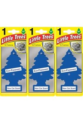 Car Freshner Little Trees Yeni Araba Kokusu 3 Adet