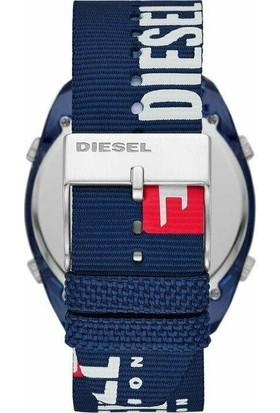 Diesel DZ1915 Crusher Blue 46mm Erkek Kol Saati