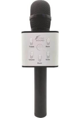 Freesound FS22 Siyah Karaoke Mikrofon + Parti Topu