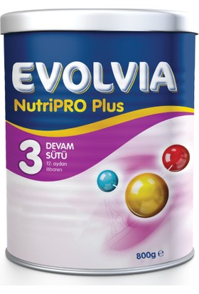 Evolvia Nutripro Plus 3 Bebek Maması 800 gr