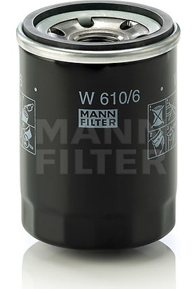 Mann Honda Civic 1.6 Fd6 R16A Yağ Filtresi 2007-2012