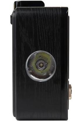 Mikado MDR-685 Ahşap Usb-Tf Destekli Bluetooth Fm/am/sw Klasik Radyo