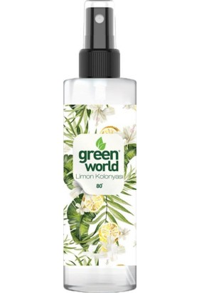 Green World Limon Kolonyası Sprey 250 ml x3
