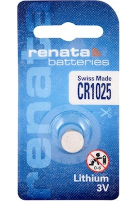 Renata Cr1025 3V Lithium Pil