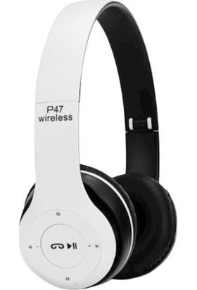 Inter P47 5.0+Edr Wireless Headphones Bluetooth Kulaklık 5.0+EDR-P47-MAVİ
