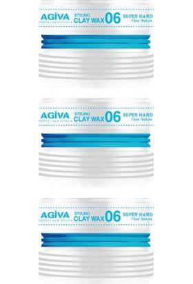 Agiva Wax Saç Şekillendirici 06 175 ml X3