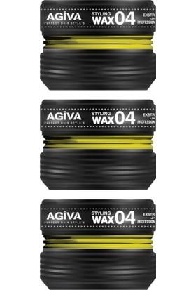 Agiva Wax Saç Şekillendirici 04 175 ml X3
