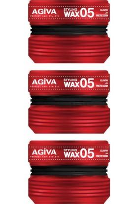 Agiva Wax Saç Şekillendirici 05 175 ml X3