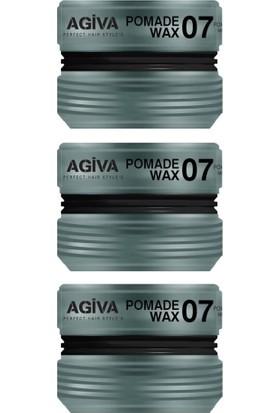Agiva Wax Saç Şekillendirici 07 175 ml X3
