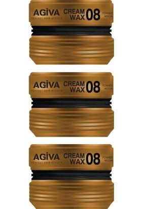 Agiva Wax Saç Şekillendirici 08 175 ml X3