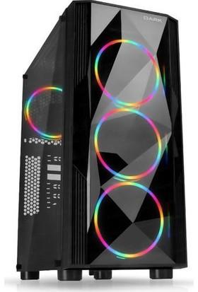 Dark AMD Ryzen 5 3500X 8GB 250GB SSD RX570 Freedos Masaüstü Bilgisayar