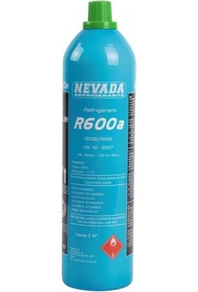 Nevada R600A Soğutucu Gaz 420 gr