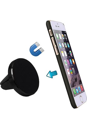 S-Link SL-AT18 Universal Ayarlanabilir Siyah Mıknatıslı Araç Telefon Tutucu