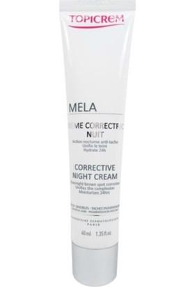 Topicrem Mela Corrective Night Cream 40 ml