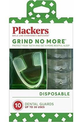 Plackers Grind Kullan At Diş Gıcırdatma Gece Plağı Seti (30 Kullanıma Kadar)