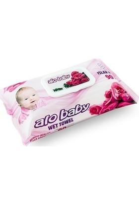 Alo Baby Islak Havlu 90'lı x12'li
