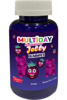 Multiday Jelly (Karamürver) 60 Adet