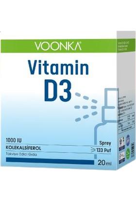Voonka Vitamin D3 20 ml 1000 Iu