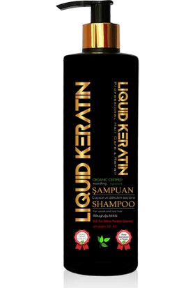 Liquid Keratin Sülfatsız Şampuan 350 ml
