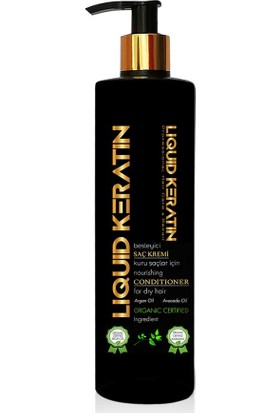 Liquid Keratin Organik Saf Keratinli Saç Bakım Kremi 200 ml