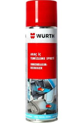 Würth Motor Temizleyici Sprey + Araç Içi Temizleyici Sprey 500 ml