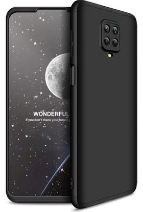 Fibaks Xiaomi Redmi Note 9 Pro Kılıf 360 Derece Tam Koruma 3 Parça GKK