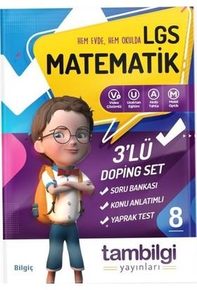 Tambilgi Yayınları 8. Sınıf 3'lü Matematik Doping Set