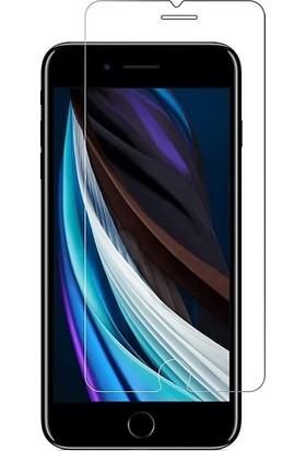 KZY Apple iPhone Se 2020 Temperli Ekran Koruyucu Cam Ekonomik 5'li Paket