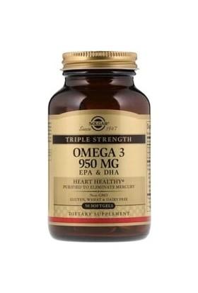 Solgar Omega3 950 mg 50 Kapsül