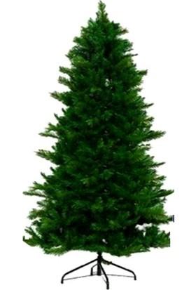 14 Süs Yılbaşı Ağacı Yapay Çam Ağacı 180CM 580 Dal Metal Gövde ve Ayaklı