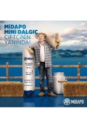 "Midapo 12 Volt 1/4"" Küçük Dalgıç Pompa(Mazot,su,zeytinyağı Yada Süt Pompası)"