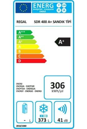 Regal Sdr 400 Dual A+ Sandık Tipi Derin Dondurucu