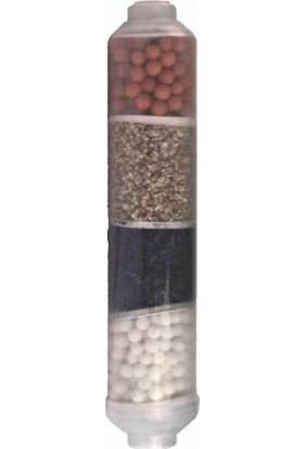 Aqua Bella Su Arıtma Cihazları İçin Su Arıtma Filtresi 4'lü Mineral Alkalin