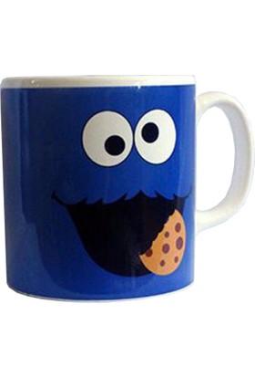 Zelyum Cookie Monster Tam Baskı Kupa