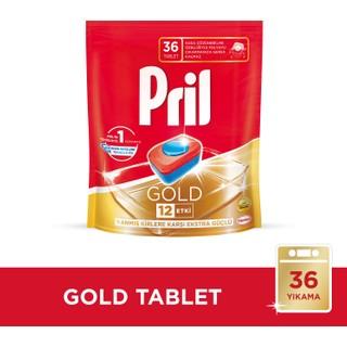 Pril Gold Bulaşık Makinesi Deterjanı 36 Tablet
