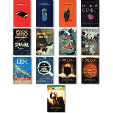 ithaki yayinlari bilim kurgu seti 13 kitap