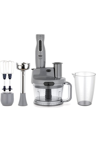 Fakir Mr Cheff Quadro Blender Set Grey