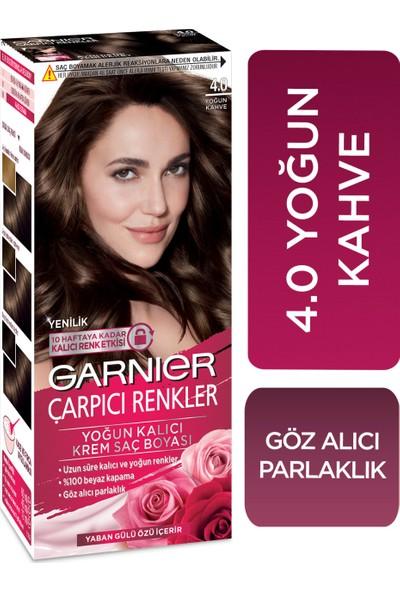 Garnier Çarpıcı Renkler 4/0 - Yoğun Kahve Saç Boyası