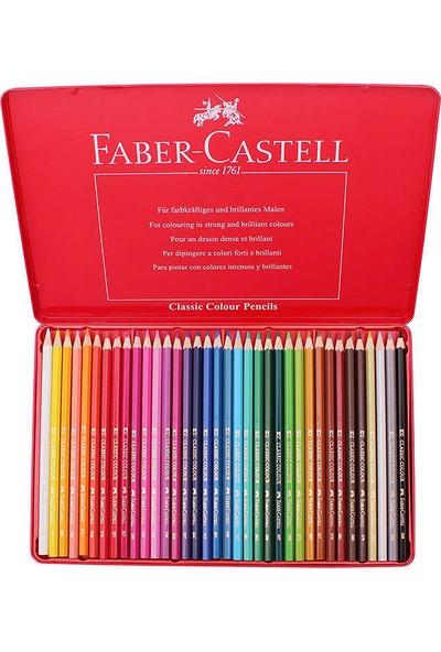 Faber-Castell Metal Kutu Boya Kalemi 36 Renk