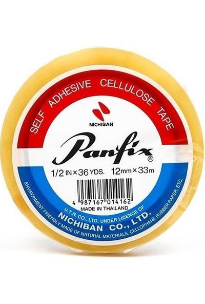 Panfix 12 X 33 İnce Şeffaf Bant 12'li