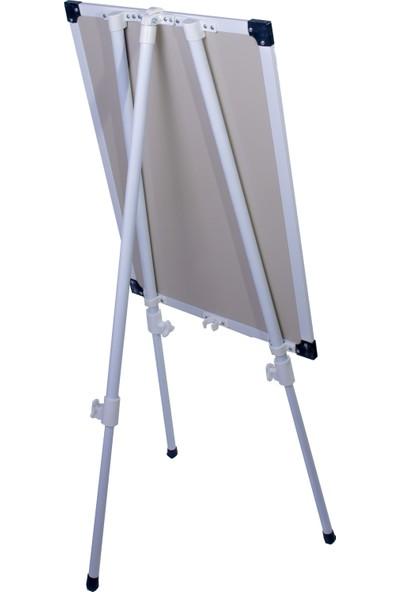 A+ Teleskopik Ayaklı Ekonomik Beyaz Okul Yazı Tahtası 60x90 cm - 1 Adet Tahta Kalemi ve Yazı Tahtası Silgisi
