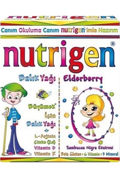 Nutrigen Balık Yağı Şurubu 200 ml + Nutrigen Elderberry Kara Mürver 200 ml