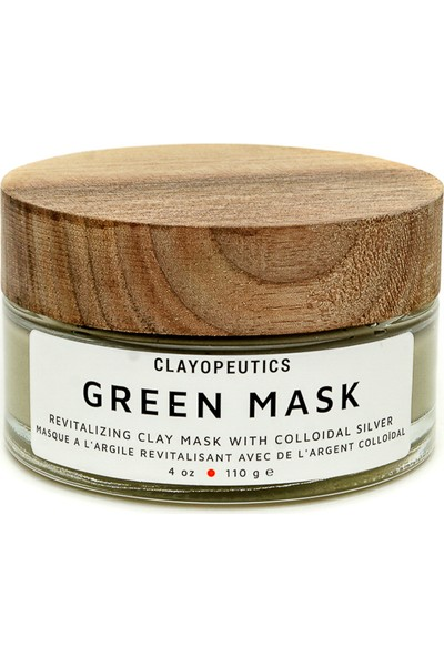 Clayopeutics Green Mask / Doğal Vegan Yeşil Kil Maskesi