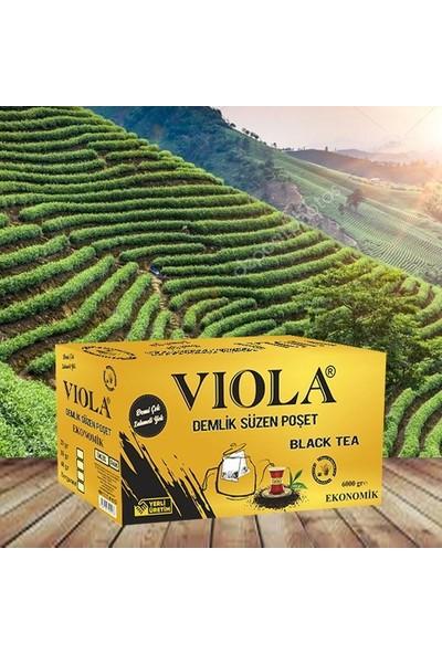 Viola Süzme Demleme Poşet Çay Demlik 6 kg - 40 gr x 150'LI