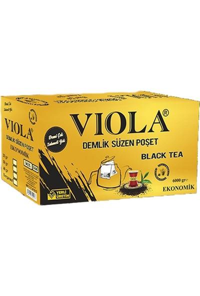Viola Süzme Demleme Poşet Çay Demlik 6 kg - 30 gr x 200'LÜ