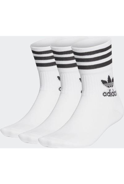 adidas GD3575 Mid Cut Crw Sck Çorap