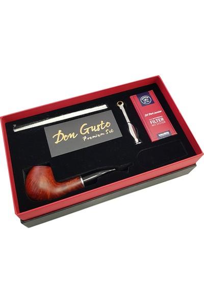 Don Gusto İtalyan Gül Ağacı Kökü Pipo Başlangıç Seti RA26