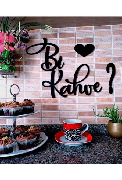 Birebir Gelsin Bi Kahve Ahşap Mutfak Dekoru