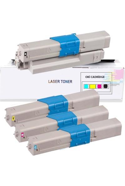 İnkwell Oki MC362-MC362DN Uyumlu Muadil Toner 4 Renk 3.500 Baskı Kapasiteli
