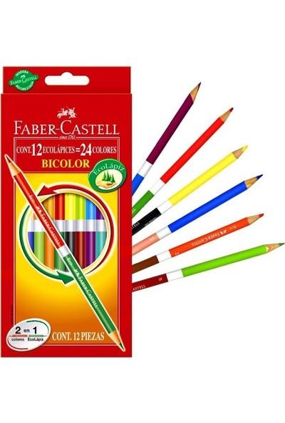 Faber-Castell Bicolor Boya Kalemi 24 Renk
